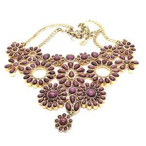 Amrita Singh Floral Statement Necklace